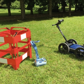 Ground Penetrating Radar QUANTUM - Versatile and simple to use, QUANTUM is a tri-frequency ground penetrating radar allowing the user to detect accurately buried targets such as PE pipes, fiber optics, cables.