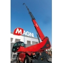 RTH 6.46 SH - It  reaches the max working height of 46m with a capacity of 1 ton, being the highest rotating forklift in the world and a competitor of 50 ton cranes