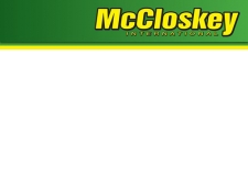 MCCLOSKEY INTERNATIONAL LTD - Machines and equipment for materials industries