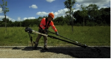EXOPUSH - the exopush is an exoskeleton that assists the efforts of the racker in the manuals operations of the asphalt leveling. It aims to reduce the difficulty of the manual operations with a better postural recovery and a major reduction of the physical efforts.