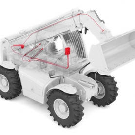 Telescopic Handler Scale - Proven system for long-term use and for all types. With <br /><br /><br /> intuitive operation and connection to the PFREUNDT Web Portal.