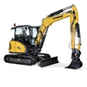 SV60 - Midi-excavator of 5, 7 T designed for a maximum comfort and stability.