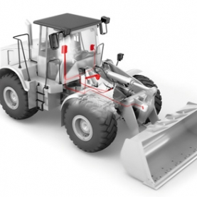 Wheel Loader Scale - Simple installation and retrofitting for all types. With high-precision and fast<br /><br /><br />