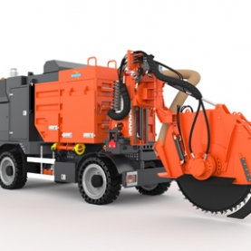 City Cleanfast - Microtrenching process with vacuum system for urban areas