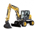 B95W - Yanmar wheeled-excavators are comfortable, powerful and efficient for an optimal work on all jobsites.