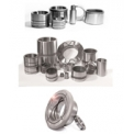 Bushes... - Hardened steel bushings, flanged and cushion bushings
