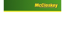 McCloskey International - Machines & equipment for demolition, environment & recycling