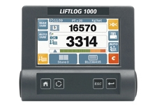 LIFTLOG 1000 - On-board weighing system for  forklifts.